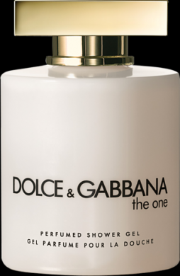 DOLCE & GABBANA THE ONE PERFUMED SHOWER GEL x 2