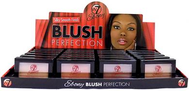 W7 EBONY BLUSH PERFECTION x 24
