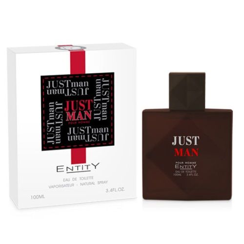 ENTITY JUST MAN 100ml EDT FOR HIM x 1