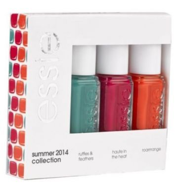 ESSIE SUMMER COLLECTION 2014 NAIL POLISH KIT x 3