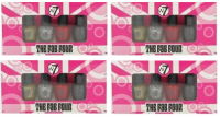 W7 THE FAB FOUR NAIL ENAMEL SETS x 2