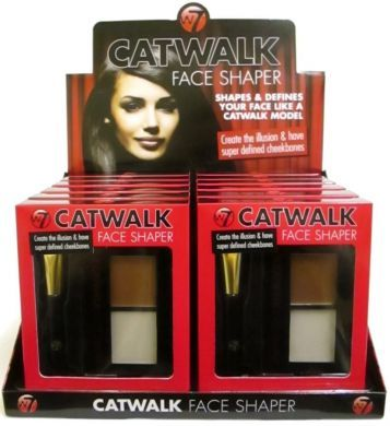 W7 CATWALK FACE SHAPER X 12