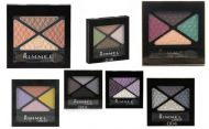 RIMMEL GLAM'EYES QUAD EYE SHADOW x 6