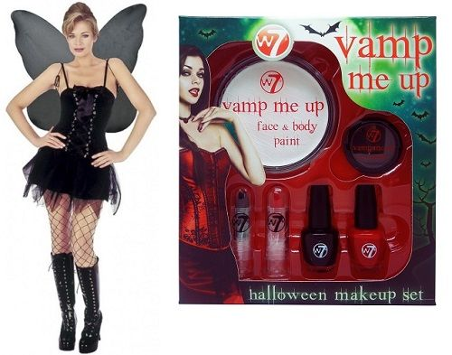 GOTHIC HALLOWEEN OUTFIT SET x 1