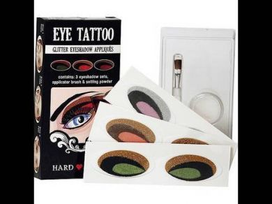 HARD CANDY EYE TATTOO x 2