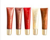 IMAN LUXURY LIP SHINE - ASSORTED x 5