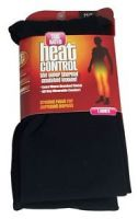 HEAT CONTROL LADIES SUPER THERMAL INSULATED LEGGINS - BLACK M L x 1
