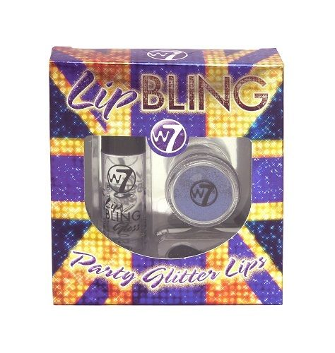 W7 LIP BLING - PURPLE KISS x 6