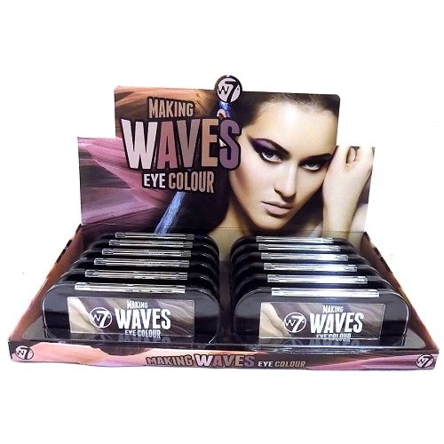 W7 MAKING WAVES EYE COLOUR - ENTOURAGE x 12