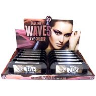 W7 MAKING WAVES EYE COLOUR - FOOLS GOLD x 12