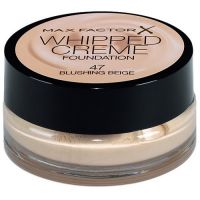 MAX FACTOR WHIPPED CREME FOUNDATION - 47 BLUSHING BEIGE x 3
