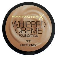 MAX FACTOR WHIPPED CREME FOUNDATION - 77 SOFT HONEY x 3