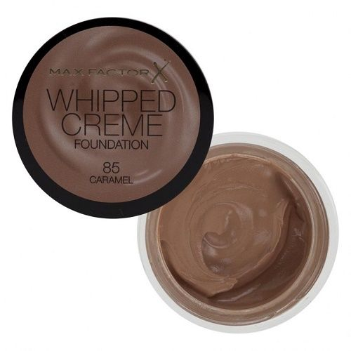 MAX FACTOR WHIPPED CREME FOUNDATION - 85 CARAMEL x 3