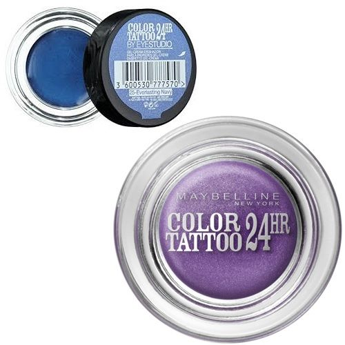 MAYBELLINE 24HR COLOR TATTOO - 2 SHADES x 6