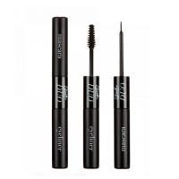 SLEEK MASCARA & EYE LINER DUO - BLACK x 4