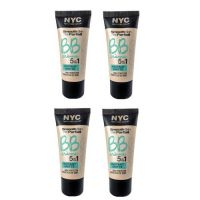NYC SMOOTH SKIN BB CREAM 5IN1 - INSTANT MATTE x 4