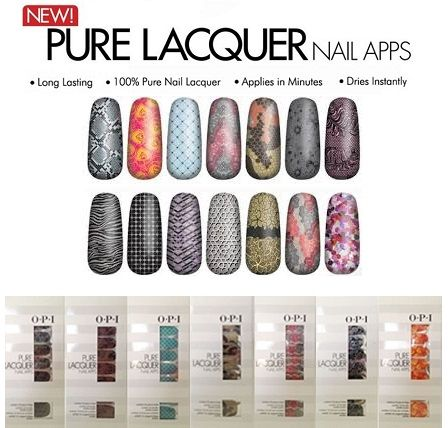 OPI PURE LACQUER NAIL APPS x 40