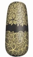 OPI PURE LACQUER NAIL APPS - GOLD LACE x 1 SET