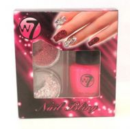 W7 NAIL BLING SET - PINKLICIOUS x 6
