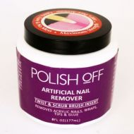 POLISH OFF ARTIFICAL NAIL REMOVER x 2
