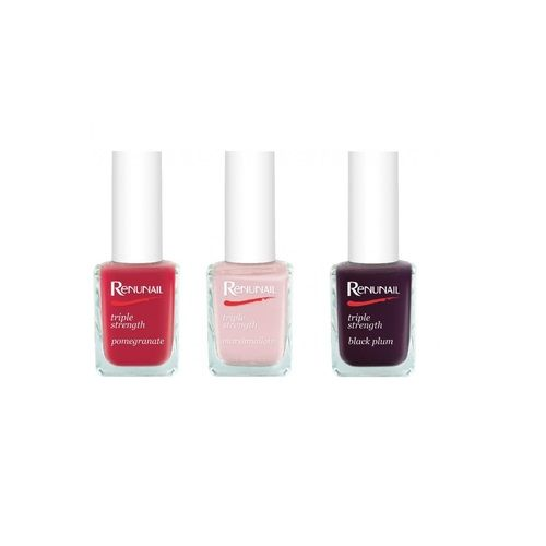 DR LEWINNS RENUNAIL TRIPLE STRENGTH NAIL POLISH - PACK A x 3