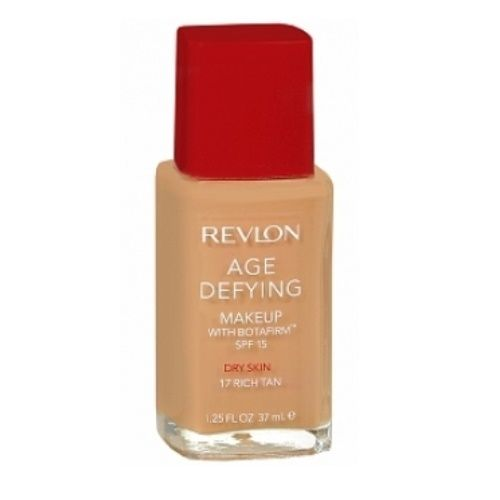 REVLON AGE DEFYING FOUNDATION WITH BOTAFIRM DRY SKIN 17 SOFT BEIGE x 1