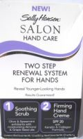 SALLY HANSEN SALON TWO STEP RENEWAL SYSTEM FOR HANDS x 1