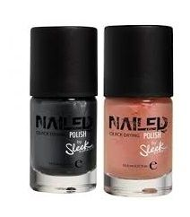 SLEEK NAILED NAIL POLISH  x 4
