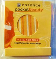 ESSENCE POCKET BEAUTY S.O.S. NAIL FILES x 5