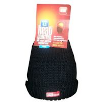 HEAT CONTROL SUPER THERMAL INSULATED HAT - BLACK x 1