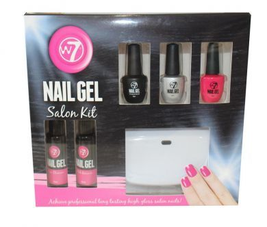 W7 NAIL GEL SALON KIT x 1