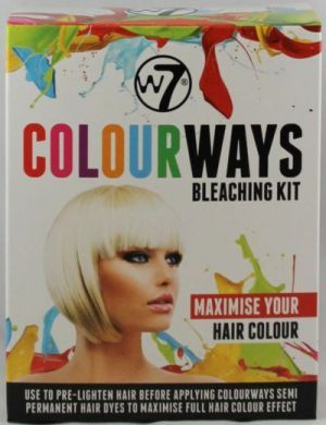 W7 COLOURWAYS BLEACHING KIT x 1