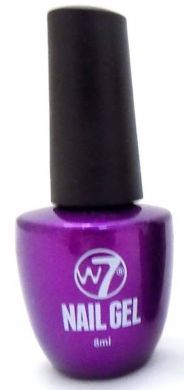 W7 GEL POLISH - GP02 MAUVE x 1