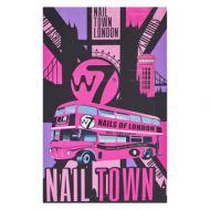 W7 NAIL TOWN 8PC POLISH SET x 1