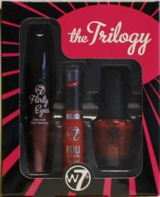 W7 THE TRILOGY SET - FLIRTY EYES x 1