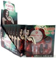 W7 VAMP ME UP HALLOWEEN MAKE UP SET x 8