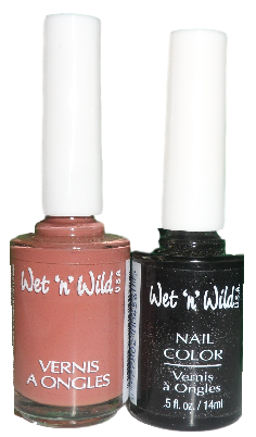 WET N WILD NAIL POLISH - 2 SHADES x 3