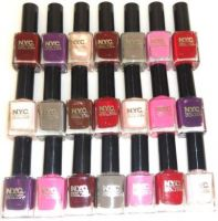 NYC LONG LASTING NAIL POLISH x 24