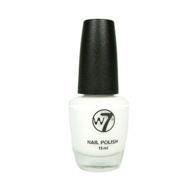 W7 LIMITED EDITION CRACKLE NAILPOLISH - WHITE x 6
