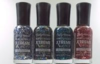 SALLY HANSEN HARD AS NAILS XTREME WEAR GLITTER EFFECT NAIL POLISH X 8