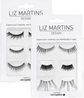 LIZ MARTINS TRIO FALSE LASH SET BY SALONSYSTEM x 3