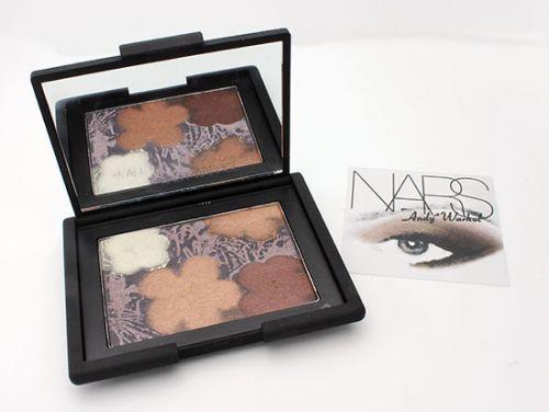 NARS Andy Warhol Eyeshadow Paltte Flowers 3 x 1
