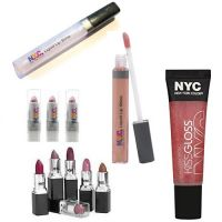 NYC ALL ABOUT LIPS JOB LOT ASSORTED x 100