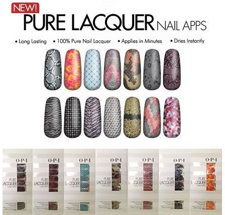 O.P.I PURE LACQUER NAIL APPS x 100