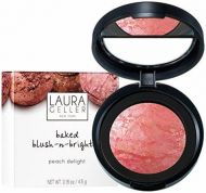 LAURA GELLER BAKED BLUSH - N - BRIGHTEN PEACH DELIGHT x 1