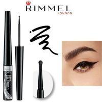 RIMMEL SCANDALEYES BOLD LIQUID EYELINER - INTENSE BLACK x 2