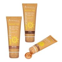 RIMMEL SUN SHIMMER INSTANT TAN FOR BODY & FACE ASSORTED x 12