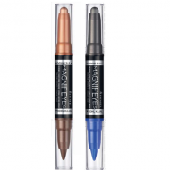 RIMMEL MAGNIF'EYES DOUBLE ENDED EYESHADOW & KOHL LINER PEN x 3