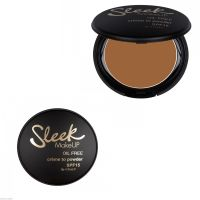 SLEEK OIL FREE CREME TO POWDER SPF 15 x 1 - 480 RUSSET