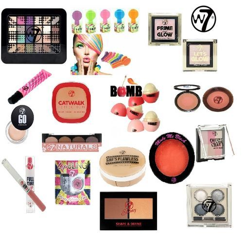 W7 COSMETIC PARCEL 155 PIECES x 1